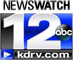 Logo for KDRV Newswatch 12