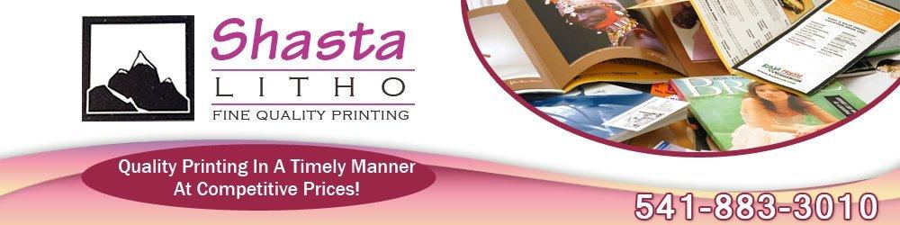 Logo for Shasta Litho